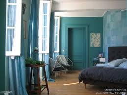 chambre bleu et chambre bleu petrole