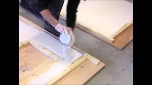 comment faire un plan de cuisine fabrication plan de travail en béton