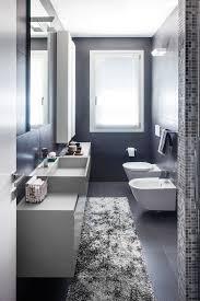 tappeti bagni moderni bagno stretto e lungo contemporaneo stanza da bagno with tappeto