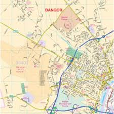 maine map with cities universal map 1415829 bangor central maine cities fold map