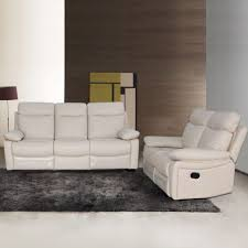 living room 3 piece leather reclining living room set 3 piece