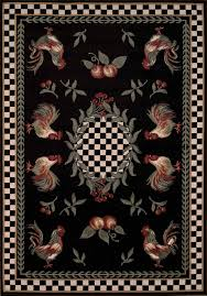 Rooster Runner Rug Rooster And Sunflower Kitchen Decor Kitchen Floor Mat Sets Navy