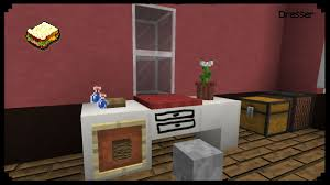 Minecraft How To Make A Furniture by Minecraft How To Make A Dresser Youtube