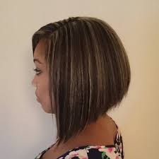 graduated layered blunt cut hairstyle 20 stylish bob hairstyle ideas for black women popular haircuts