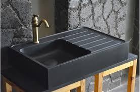 evier cuisine granit noir évier en pour cuisine shadow granit grand luxe