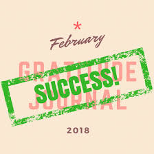 Challenge Success February Gratitude Journal Challenge Results