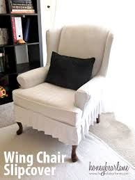 how to slipcover a chair my wing chair slipcover reveal