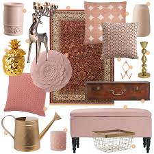 wishlist home accessories in copper u0026 pink u2013 retromantisch