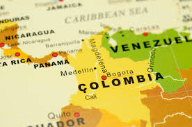Colombian Map Structural Re Organization And Reform In The Colombian Healthcare