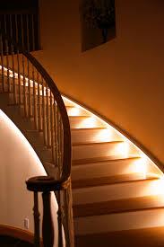 elegant led stairs lighting design trillfashion com