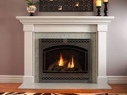 elegant fireplace hearth granite grey