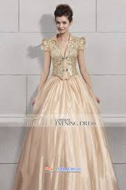 creative fox evening dresses gold on chip banquet evening dresses