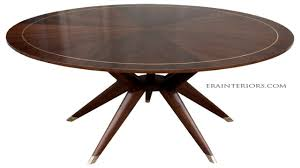Mid Century Modern Dining Table Mid Century Modern Round Dining Table 21 With Mid Century Modern