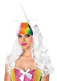 Halloween Unicorn Costume Amazon Leg Avenue 2 Piece Unicorn Costume Kit Multicolor