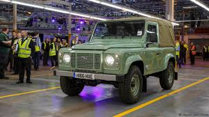 new land rover defender 2016 bbc autos this is the last land rover defender