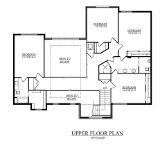 second story floor plans floor plan second story future home traditional