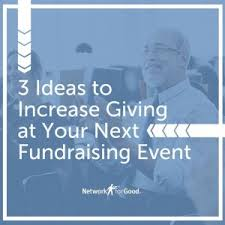 inspire more donations at your fundraising events network for