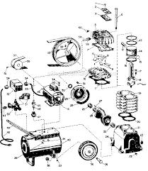 parts for campbell hausfeld air compressor 10004