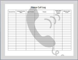 Sales Call Report Template Excel by 11 Best Call Log Ideas Images On Free Printables