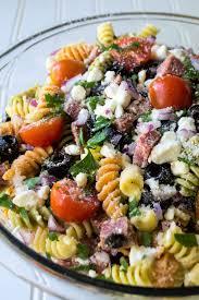 easy italian pasta salad pack momma