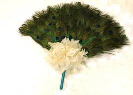 peacock feather fan peacock feather fan bridal bouquet peacock collection peacock
