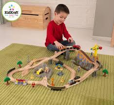 kidkraft train table compatible with thomas kidkraft bucket top construction train set 61 piece compatible
