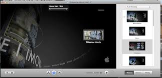 creating a slideshow with imovie and burning it to a dvd