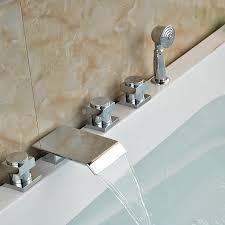 Waterfall Tub Faucet Online Get Cheap Bathtub Faucet Sprayer Aliexpress Com Alibaba
