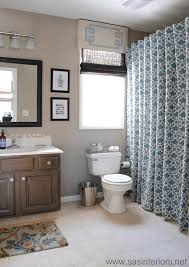 Bathrooms With Shower Curtains Shower Curtain Diys To Rev Your Bathroom