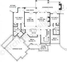 cameron ii bungalow floor plan tightlines designs house plans