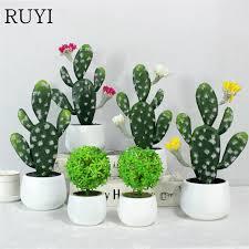 plante verte bureau plante en pot plante verte cactus multi viande de bureau mini bonsaï
