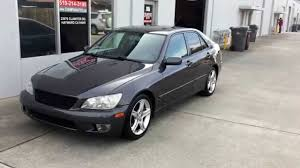 used lexus is300 for sale for sale 2004 lexus is300 w 57k miles brand new paint navi