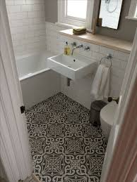 ceramic tile bathroom ideas pictures bathroom ideas with bold printed floor tiles and mounted