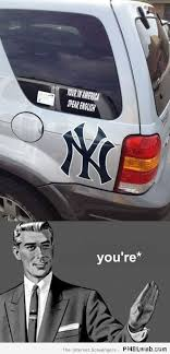 Car Guy Meme - 22 grammar guy car sticker meme pmslweb