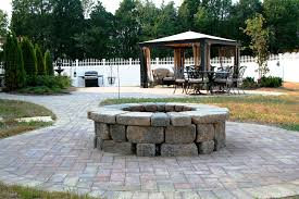Patio And Firepit Paver Patio Pit Projects Kingdom Landscapes