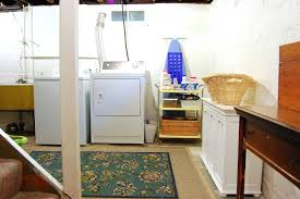 Laundry Room Table With Storage by Laundry Rooms In Dark Damp Basements Who Wouldn T Love Doing