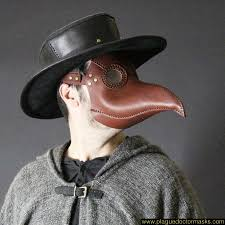 plague doctor costume plague doctor mask brown color plague doctor costume