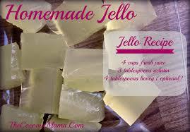 jello recipes for thanksgiving how to make healthy homemade jello the coconut mama