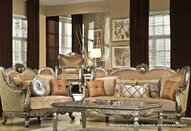 Antique Living Room Furniture Style Traditional Formal Living Room Furniture Set Beige Brown