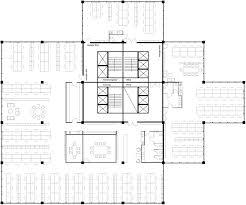 Sendai Mediatheque Floor Plans by
