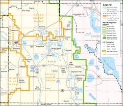 Map Southwest Florida by Southwest Florida Water Management District Polk County