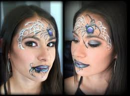 Spider Halloween Makeup Spider Queen Makeup And Face Painting Youtube
