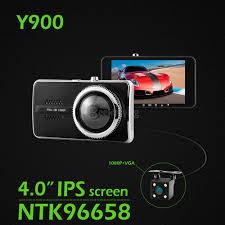 y900 4 0inch novatek 96658 170 degree car camera black