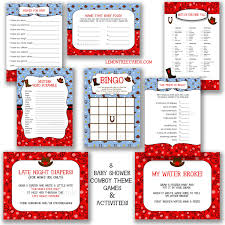 baby shower cowboy cowboy baby shower game package instant download printable