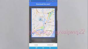 samsung galaxy s7 edge download offline maps in google