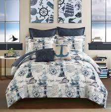 Nautical Twin Comforter Nautical Bedding Ebay