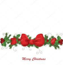 christmas garland u2014 stock vector lindwa 6601185