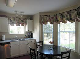 dining room valance country kitchen curtains ideas dining table set in the nearby