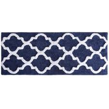Navy Bath Mat Buy Navy Blue Bath Rugs From Bed Bath Beyond