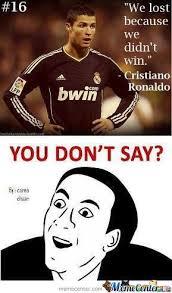 Cristiano Ronaldo Meme - you don t say cristiano ronaldo by khalid12 meme center
